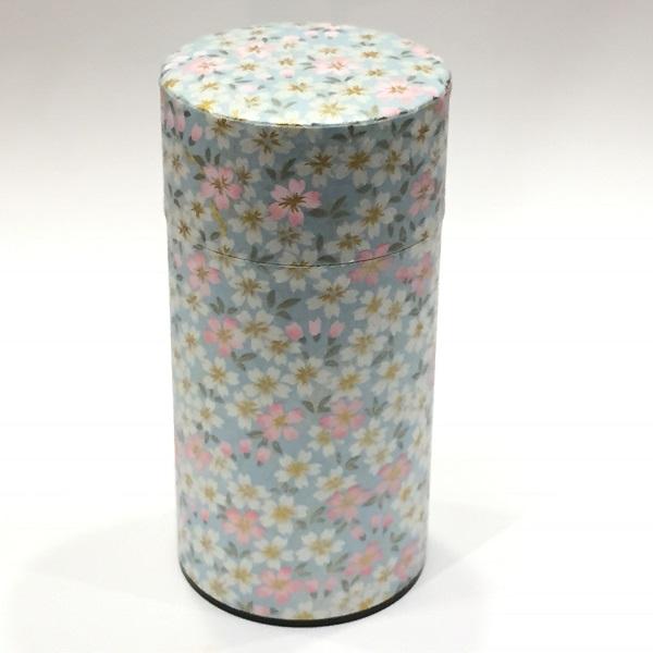 【和紙茶缶200g】256