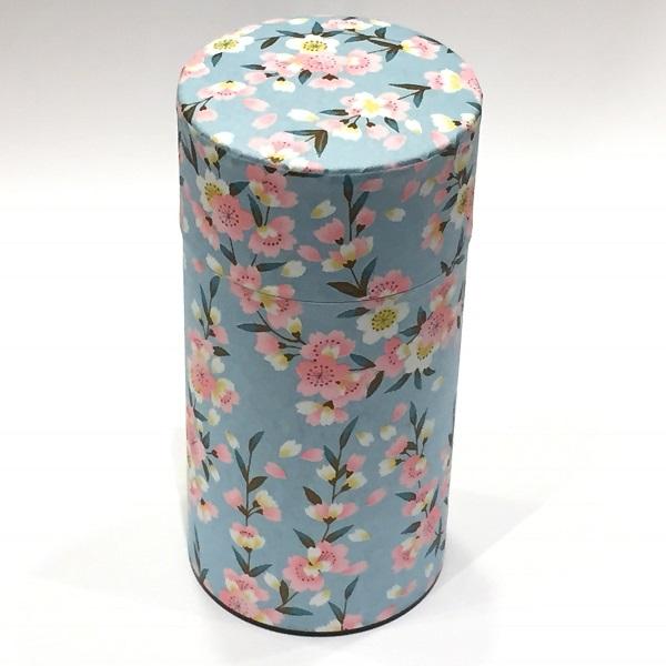 【和紙茶缶200g】259