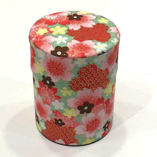 【和紙茶缶50g】203