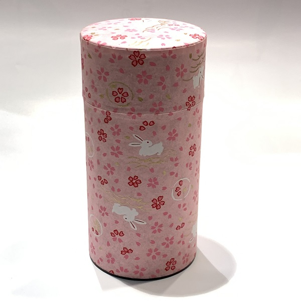 【和紙茶缶200g】8