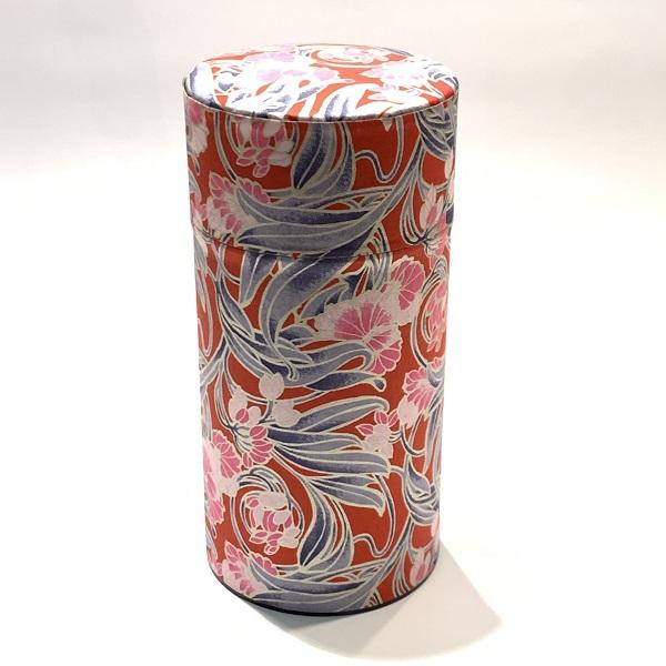 【和紙茶缶200g】208