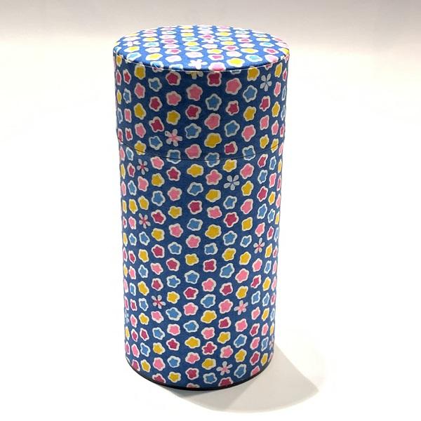 【和紙茶缶200g】9