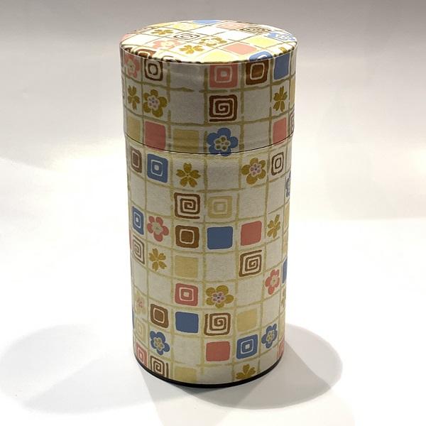 【和紙茶缶200g】10