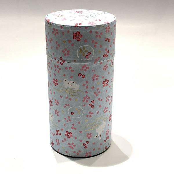 【和紙茶缶200g】13