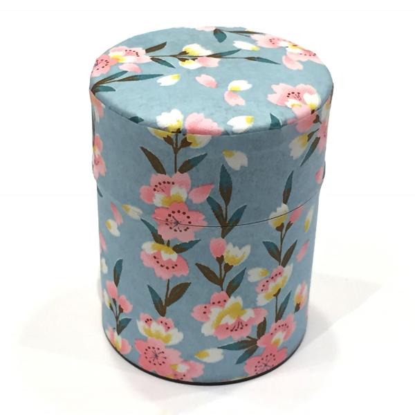 【和紙茶缶50g】221