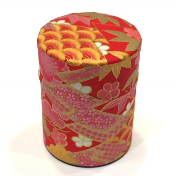 【和紙茶缶50g】228