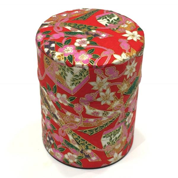 【和紙茶缶50g】230