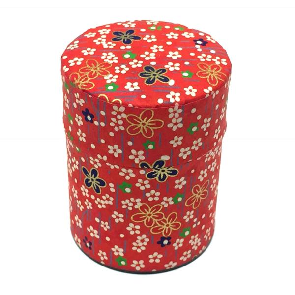 【和紙茶缶50g】232