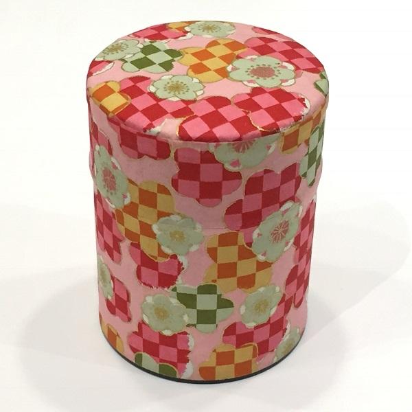 【和紙茶缶50g】250