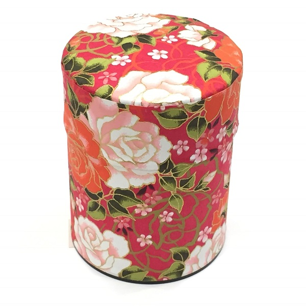 【和紙茶缶50g】259