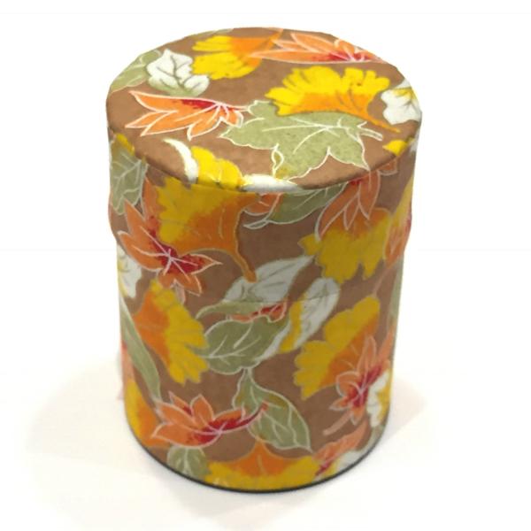 【和紙茶缶50g】264