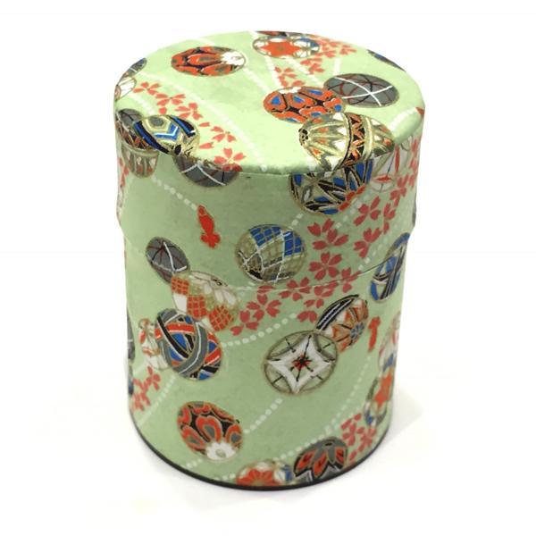 【和紙茶缶50g】270