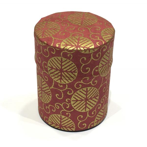 【和紙茶缶50g】274