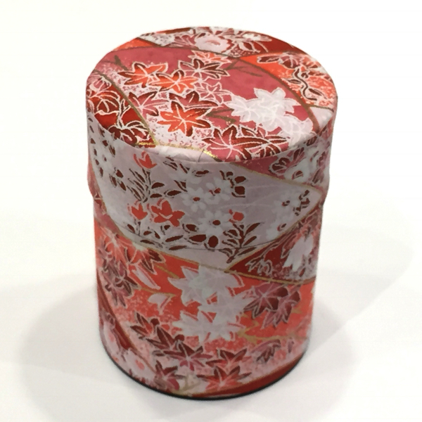 【和紙茶缶50g】42