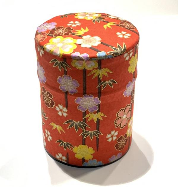 【和紙茶缶50g】4