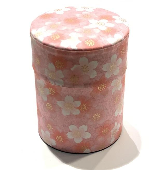 【和紙茶缶50g】8