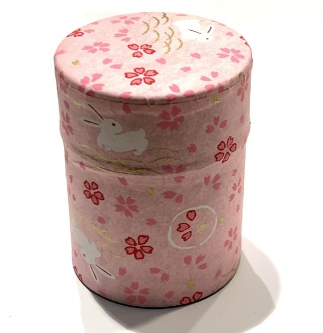 【和紙茶缶50g】11