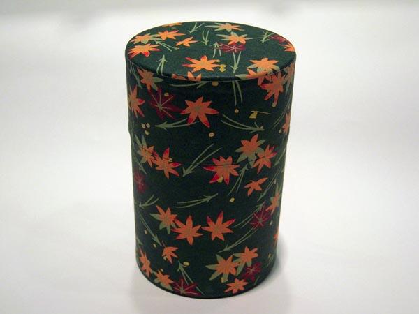 和紙茶缶茶筒100g69