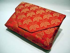 数奇屋袋すきや袋龍村美術織物製大内桐金欄1