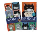 【猫柄】カツミアート(松下カツミ)クリアマスクケース:アベノマスク