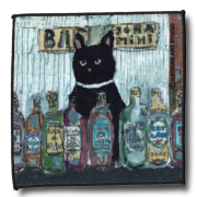 猫柄タオルハンカチ:バーソラミミ