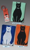 【猫柄】カツミアート(松下カツミ)ブックカバー:おすまし猫