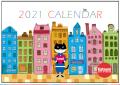 2021年松下カツミ猫柄カレンダー