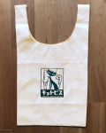【猫柄】カツミアート(松下カツミ)お買い物エコバッグ:キャトピス