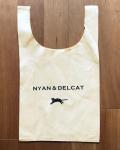 【猫柄】カツミアート(松下カツミ)お買い物エコバッグ:NYAN & DELCAT