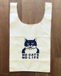 【猫柄】カツミアート(松下カツミ)お買い物エコバッグ:ニッキー