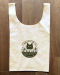 【猫柄】カツミアート(松下カツミ)お買い物エコバッグ:ピアノ