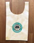 【猫柄】カツミアート(松下カツミ)お買い物エコバッグ:スターキャットコーヒー