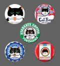 カツミアート猫柄缶バッチ:ニッキー