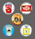 カツミアート猫柄缶バッチ:パッケージ-A