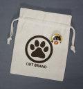【猫柄】カツミアート(松下カツミ)猫柄きんちゃく袋:C@T BRAND