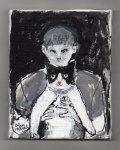 原画作品:THE MAN AND THE CAT[松下カツミ/20180407]