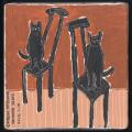 原画作品:Cat on the chair [松下カツミ/20190116]