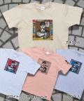 【猫柄】カツミアート(松下カツミ)T-シャツ:少年と猫