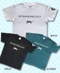 【猫柄】カツミアート(松下カツミ)T-シャツ:NYAN & DELCAT