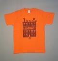 キャットハウス:T-シャツ(オレンジ)