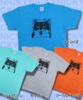 【猫柄】カツミアート(松下カツミ)T-シャツ:ニッキー2