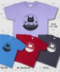 松下カツミ猫柄T-シャツ:ピアノ