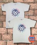 【猫柄】カツミアート(松下カツミ)T-シャツ:スローライフキャット