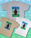 【猫柄】カツミアート(松下カツミ)T-シャツ:おすまし猫