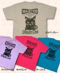 松下カツミ猫柄T-シャツ:ウォンテッド