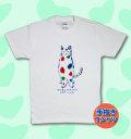 【猫柄】カツミアート(松下カツミ)T-シャツ:YOKOHAMA CAT CLUB(ホワイト)