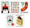猫柄クリスマスカード-1