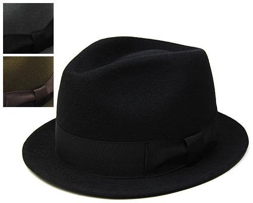 """DRAGON HAT(ドラゴンハット)""ウールフエルト中折れ帽(小つば)【ハット】[大きいサイズの帽子アリ][小さいサイズあり] 【コンビニ受取対応】 (kaw-drg-cd0225s)"