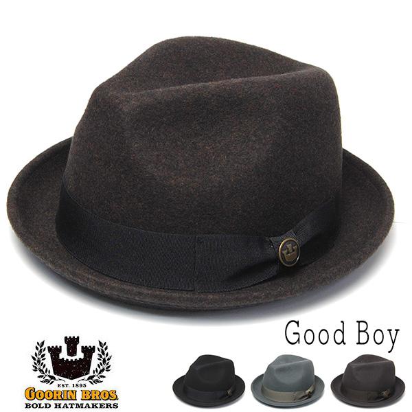 GOORIN グーリン ウールフエルト中折れ帽 GoodBoy