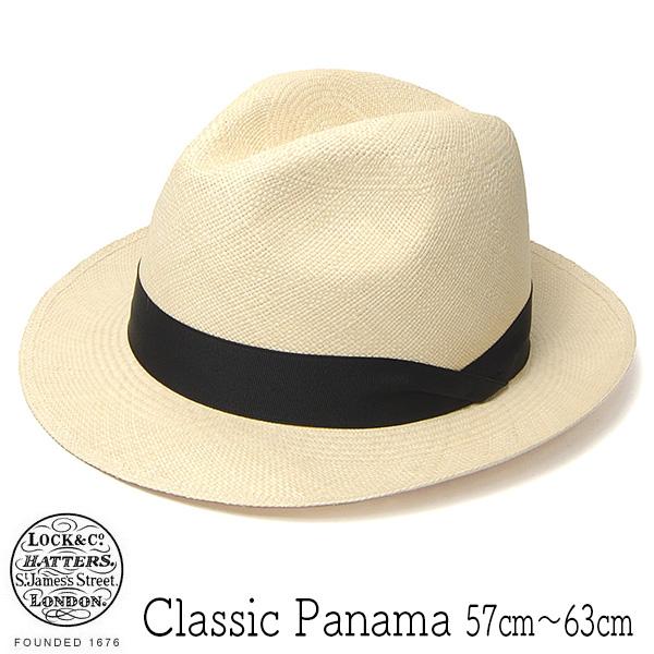 """""""Lock&Co.Hatters(ジェームスロック)"""" パナマ中折れ帽 CLASSIC PANAMA"""
